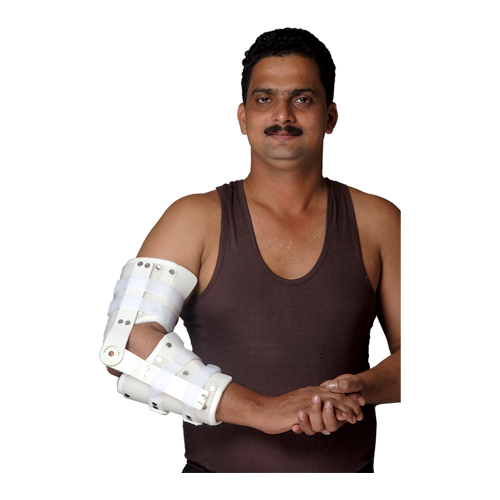 """JRCO ELBOW ORTHOSIS """"REGULAR"""" WITH FREE ELBOW JOINT WITH HUMERUS & FOREARM CORSET"""