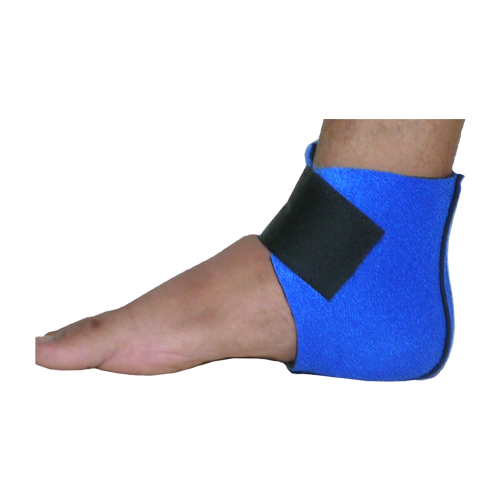 ANKLET WITH HEEL CLOSED with HEEL PAD