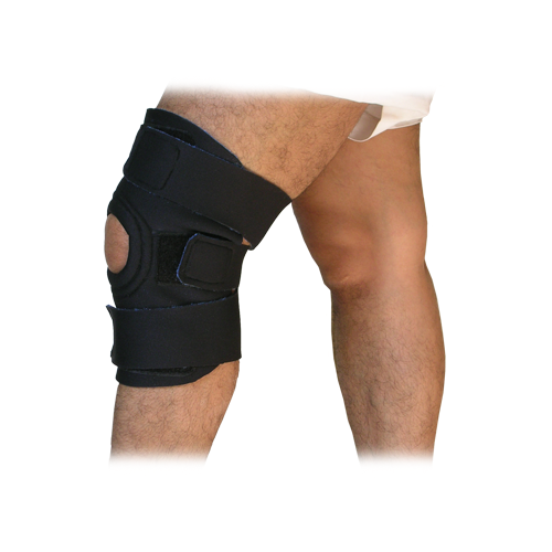 KNEE SUPPORT PATELLAR OPEN WITH TRIPLE GRIP STRAP