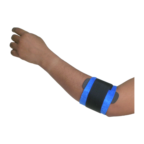 TENNIS ELBOW STRAP WITH EPICONDYLER PAD
