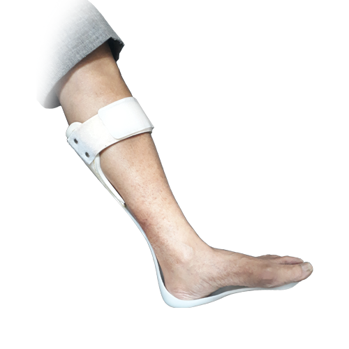 JRCO A. F. O. NEW LEAF TYPE (Ankle Foot Orthosis) WITH FIGURE EIGHT