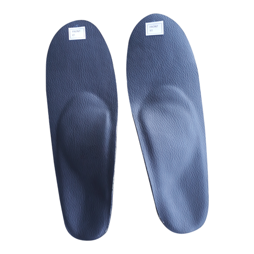 JR MODULAR DYNAMIC FOOT ORTHOSIS  C & E Heels (Medial Arch Cushions with medial Heel wedging)