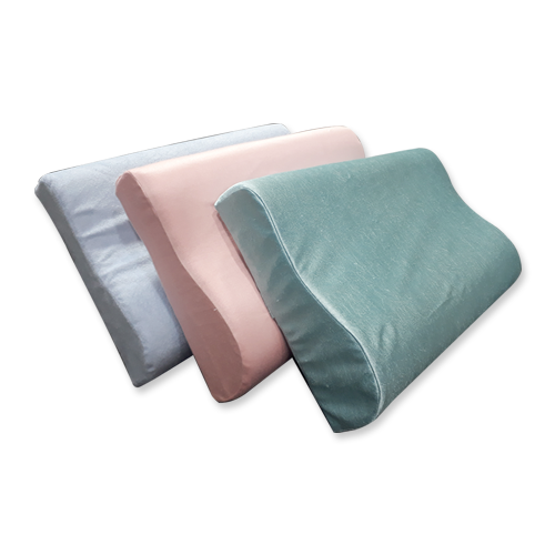 DOUBLE CONTOURED MEMORY FOAM PILLOW